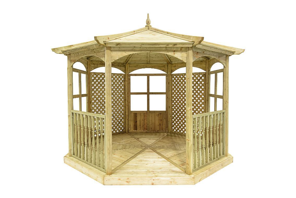 Regis Wooden Garden Gazebo | Model A