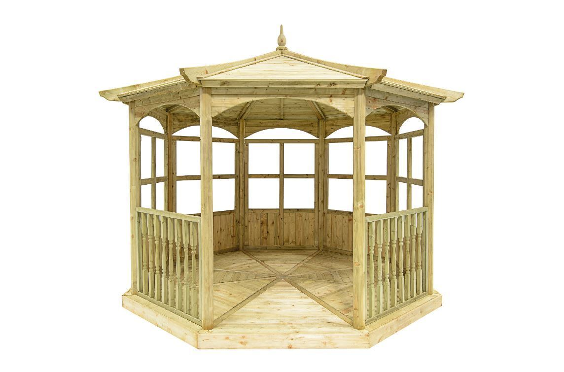 Regis Wooden Garden Gazebo | Model B