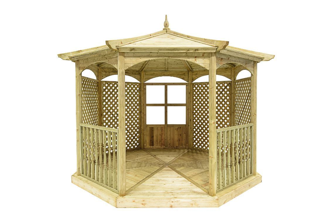 Regis Wooden Garden Gazebo | Model C