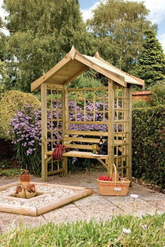The Carrara Wooden Arbour