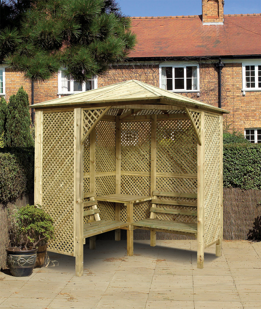 Cheap Wooden Garden Arbours For Sale Buy Online Gazebo Direct