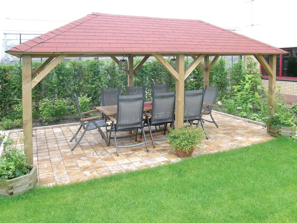 Ultimo Wooden Garden Gazebo - Buy Wooden Garden Gazebos & Garden Structures Online Gazebo Direct