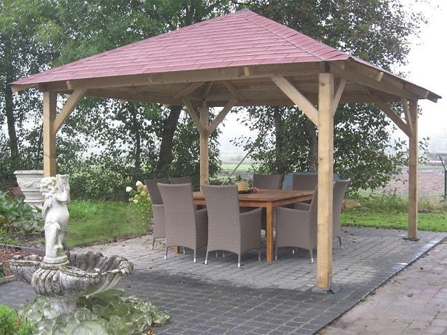 classico wooden gazebo x garden canopy kit gazebo direct. Black Bedroom Furniture Sets. Home Design Ideas