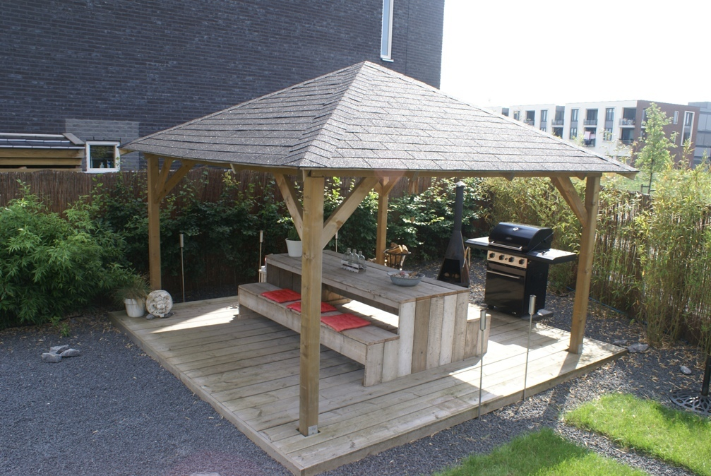 Extremo Wooden Gazebo Buy Cheap Garden Shelters Online