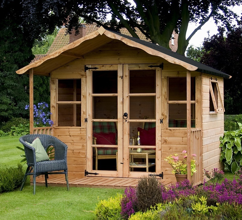 Mercia 8x8 Premium Traditional Summerhouse