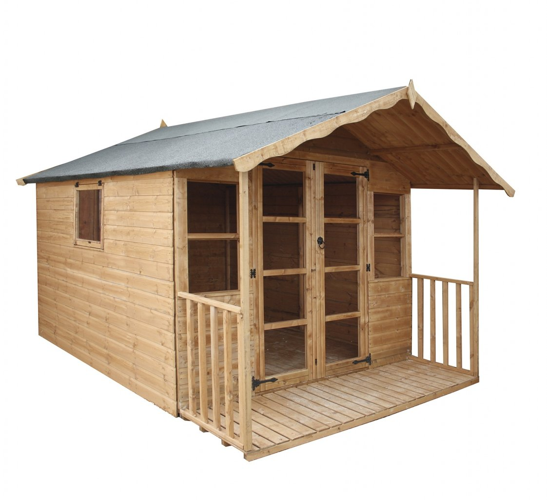 Mercia 10 x 8 Premium Traditional Summerhouse
