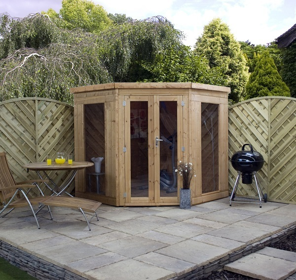 Summerhouses log cabins and garden buildings from gazebo for 7x7 modern house