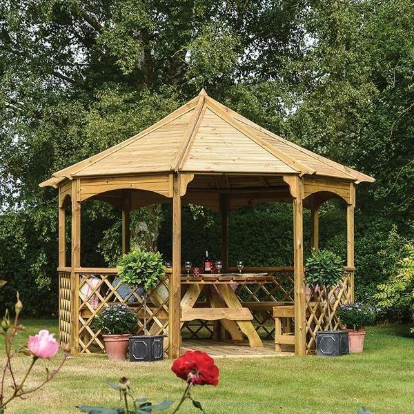 Buckingham Wooden Gazebo