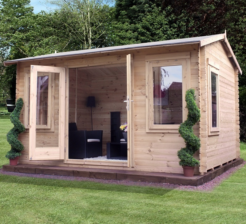 Grizedale Log Cabin | 4m x 3m