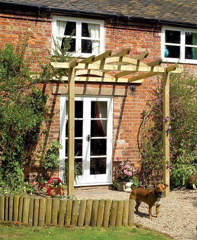 Wooden Pergolas And Garden Pergola Kits From Gazebo Direct