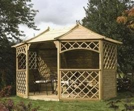 Buy Cheap Wooden Garden Gazebos, Pergolas & Summerhouses ...