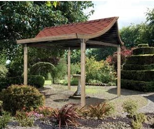 Tea House Wooden Pergola