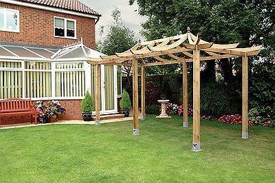 Wooden Pergolas Amp Garden Pergola Kits For Sale Gazebo Direct