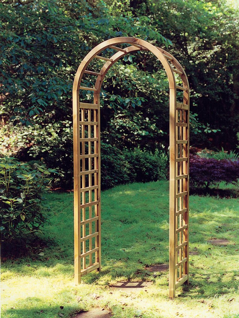 The Elite Wooden Garden Arch