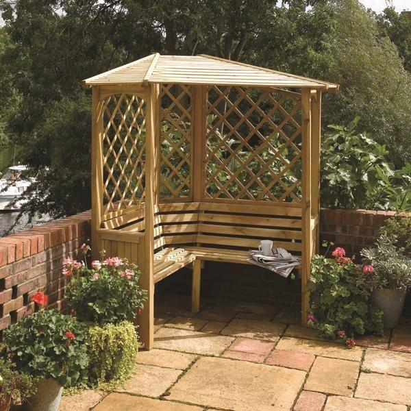 Balmoral Wooden Arbour