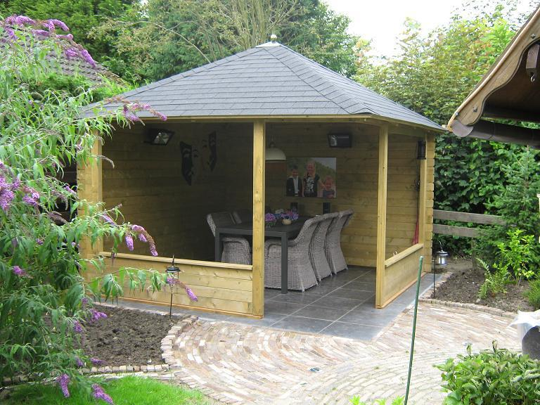 Waldemar Wooden Gazebo 3 5m X 3 5m Timber Garden