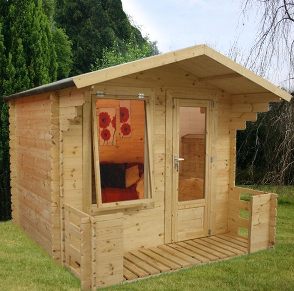 Garden Log Cabins for Sale   Buy Cheap DIY Log Cabin Kits Online at