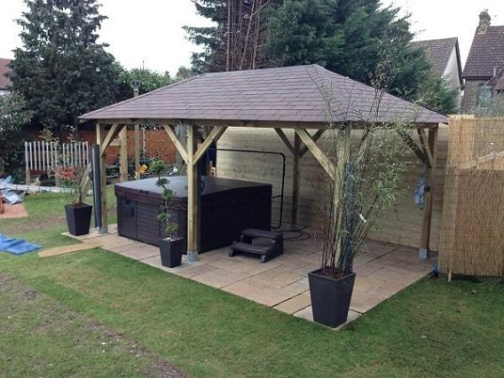 grande gazebo self build kit